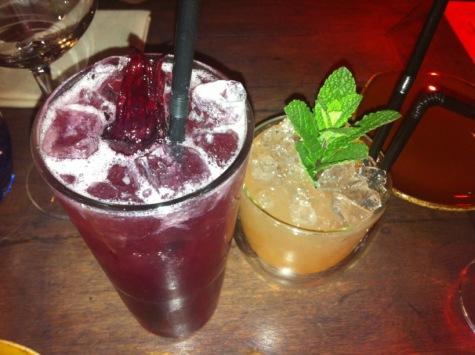 Fruity cocktails: pisco sours