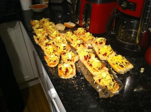 Enough food for everyone!