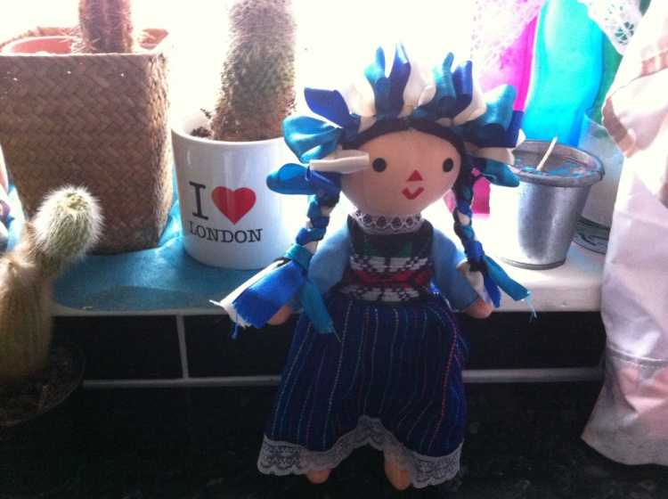 Mexican doll from Wahaca