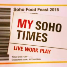 My Soho Times Soho Food Feast