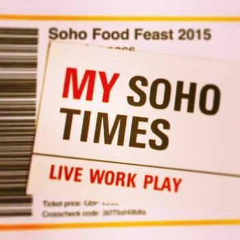 My Soho Times Soho Food Feast