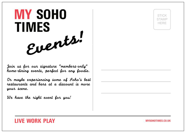 my soho times events