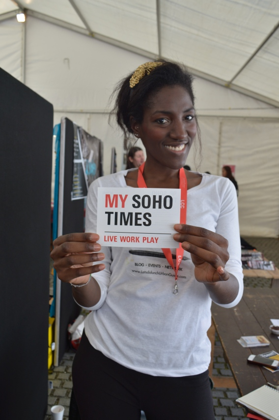 My Soho Times at Freshers Fair
