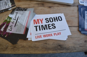 Let's do Lunch and My Soho Times collaboration