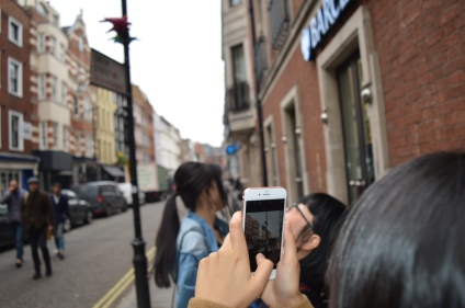 out and about soho bloggers