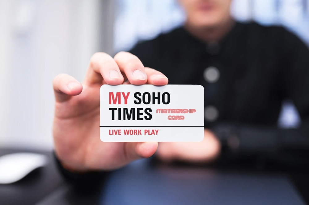 My Soho Times membership card