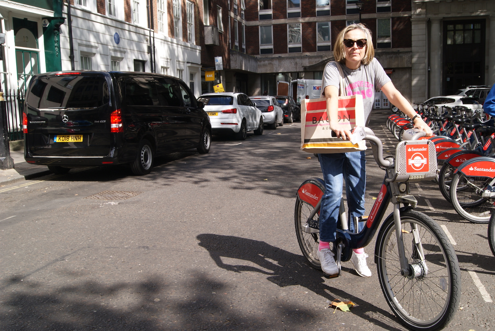 My Soho Times Santander Cycles