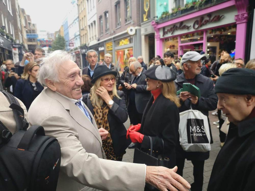 My Soho Times | Lady Jane plaque unveil