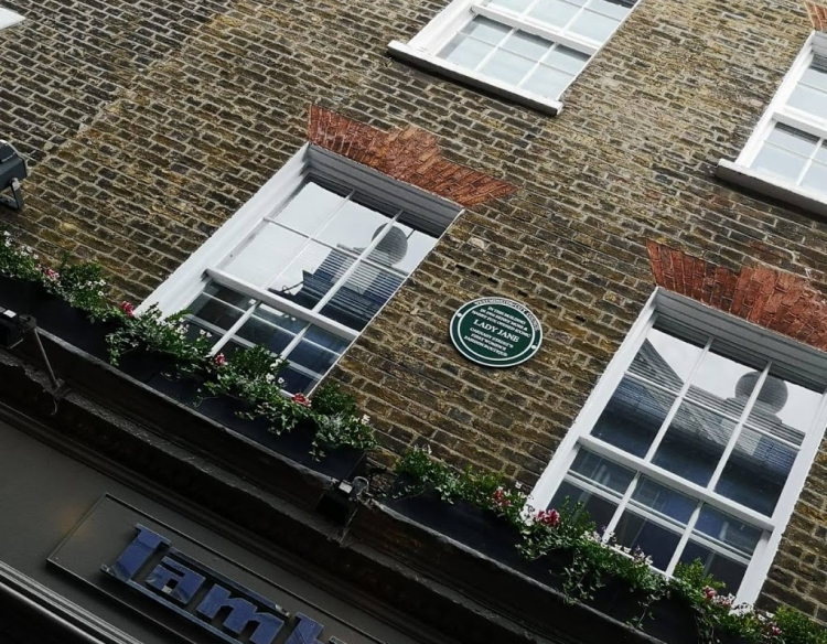 My Soho Times | Lady Jane plaque unveil 3