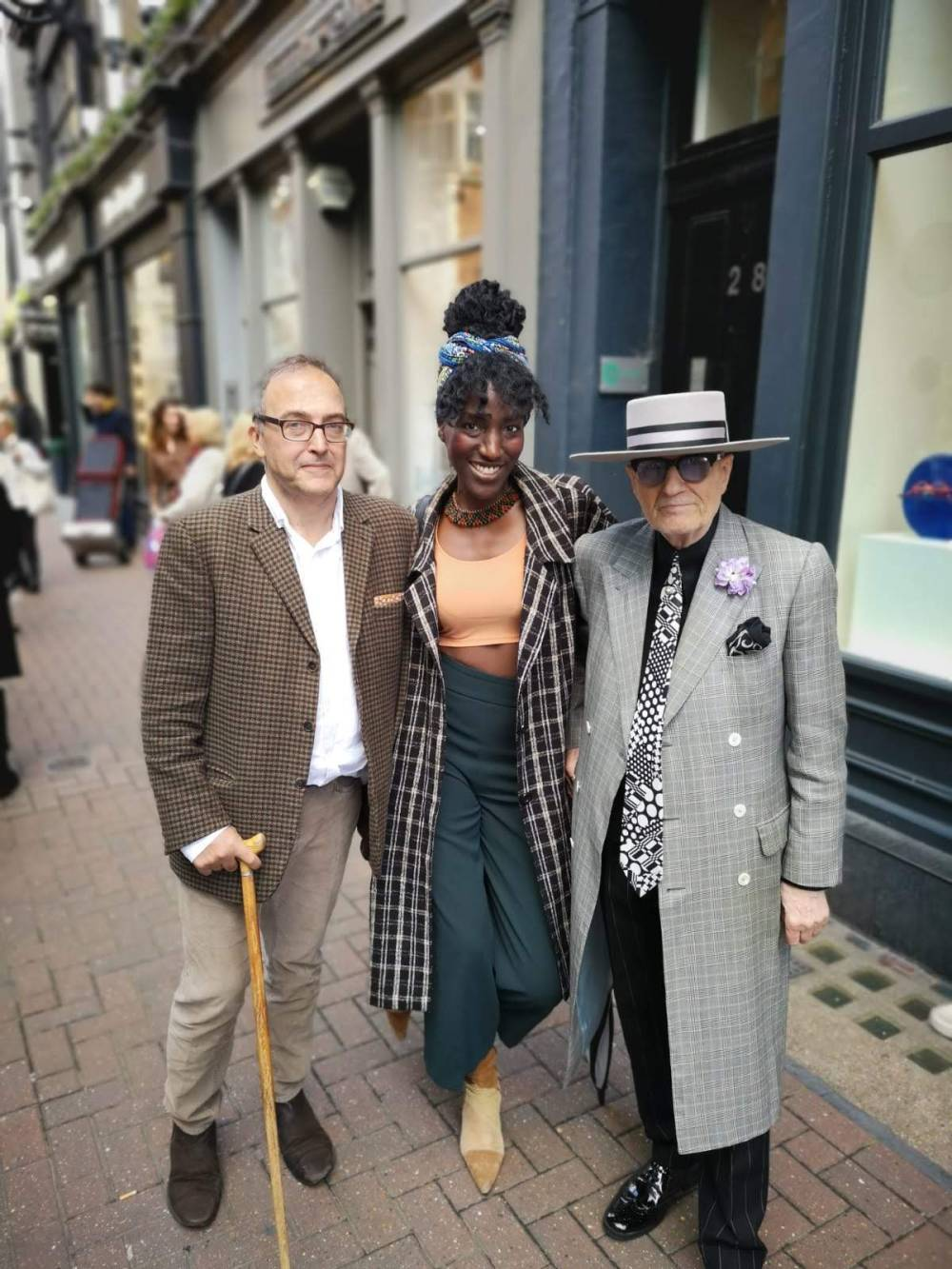 My Soho Times | Lady Jane plaque unveil 5