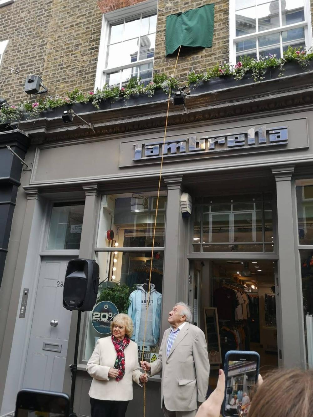 My Soho Times | Lady Jane plaque unveil 6