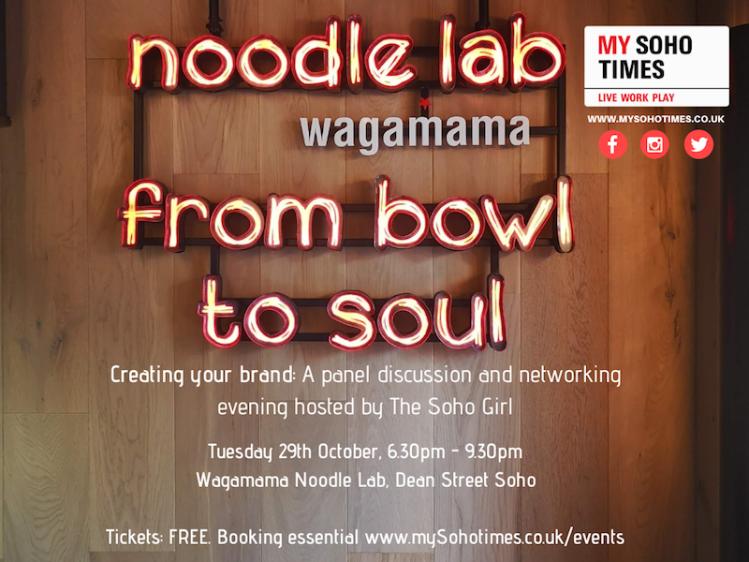 Soho x Talks Wagamama Noodle Lab