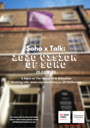Soho x Talk event: 2020 Vision of Soho