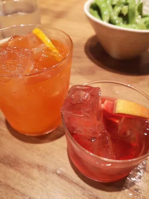 Cocktails....