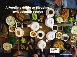 My Soho Times foodie blogging workshop