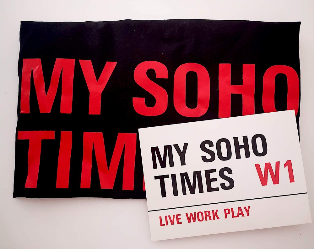 My Soho Times Tote bag black